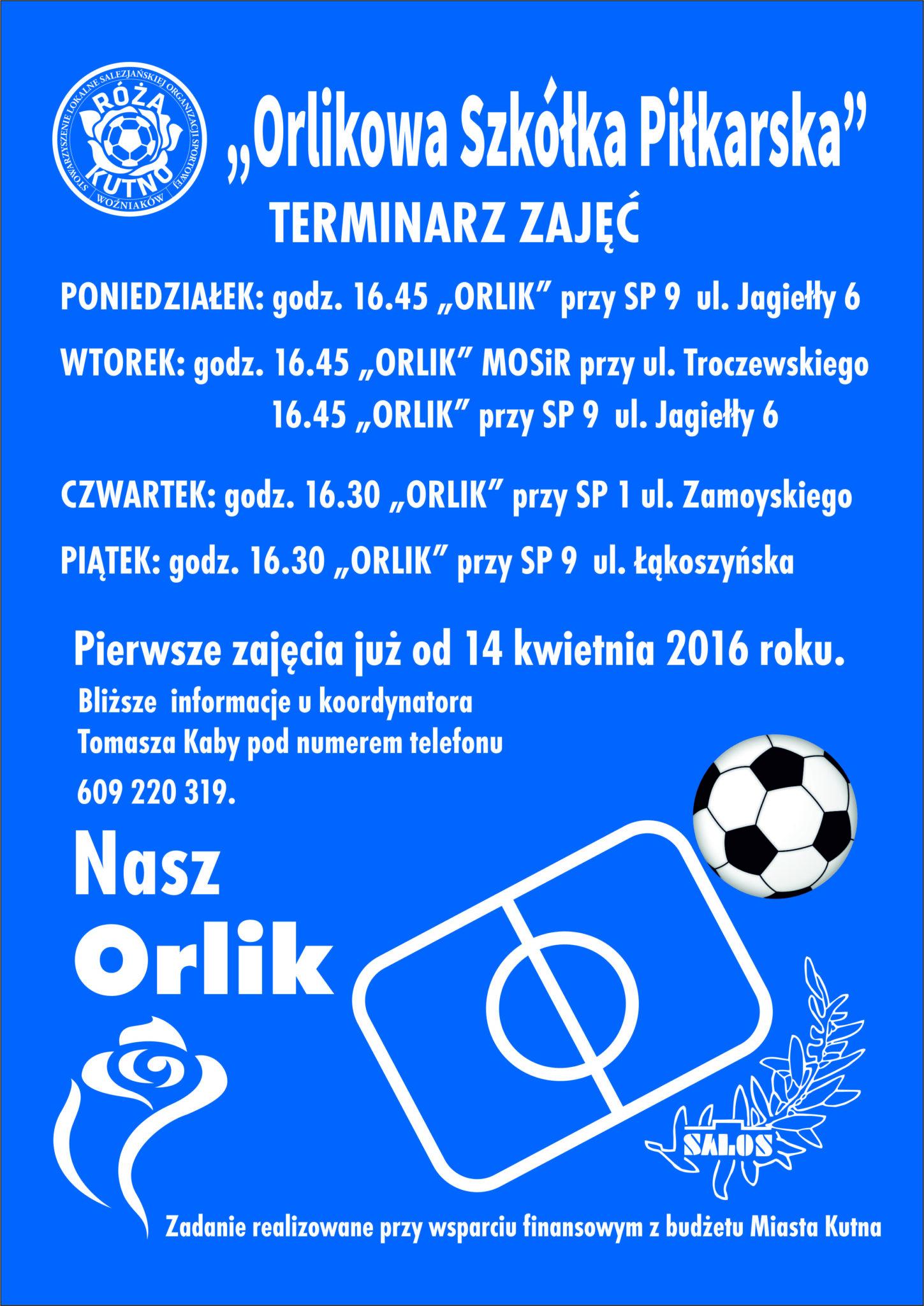Orlikowa Szkółka Piłkarska 2016