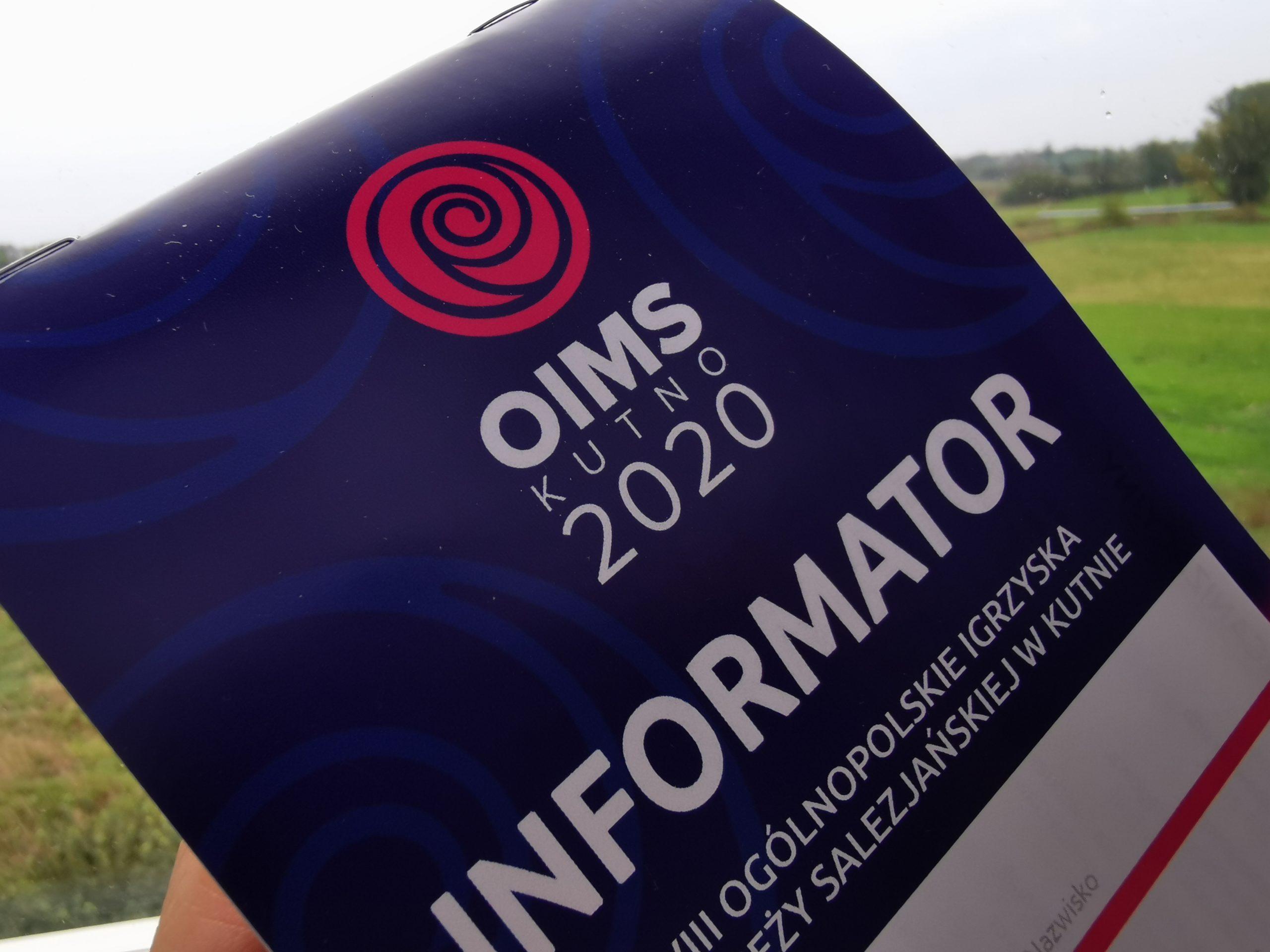 Komunikat OIMS nr 3/2020